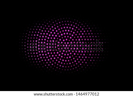 Dark Pink vector backdrop with rectangles, squares. Rectangles on abstract background with colorful gradient. Pattern can be used for websites.