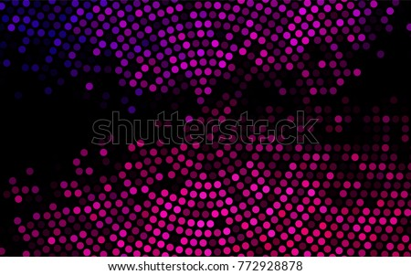 stock-vector-dark-pink-vector-modern-geometrical-circle-abstract-background-dotted-texture-template-geometric
