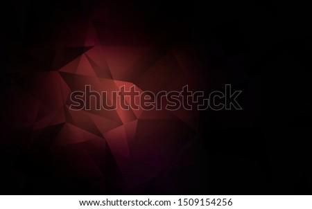dark pink vector triangle