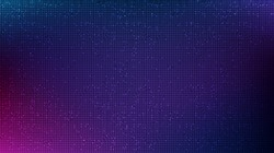Dark Purple Circuit Microchip Technology on Future Background,Hi-tech Digital and Communication Concept design,Free Space For text in put,Vector illustration.