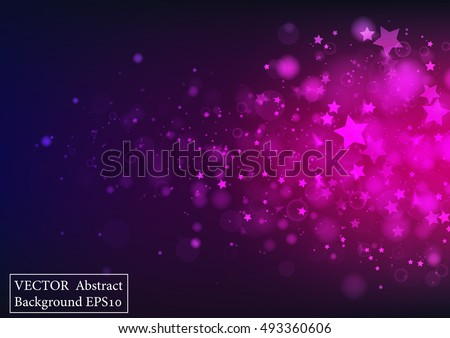 Pink vector glitter background download free vector art stock dark purple glitter sparkles rays lights bokeh and star festive christmas elegant abstract background vector altavistaventures Image collections