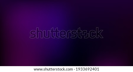 Dark Purple, Pink vector blur background. Abstract colorful illustration in blur style with gradient. Modern design for your apps. Foto stock ©