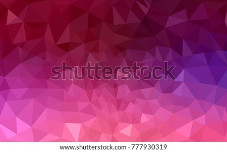 stock-vector-dark-purple-pink-vector-low-poly-crystal-background-polygon-design-pattern-low-poly-illustration