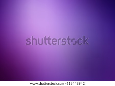Dark Purple vector blurred background with glow. Art design pattern. Glitter abstract illustration with elegant bright gradient design. - Shutterstock ID 613448942