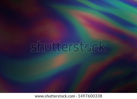 Dark Purple vector blurred shine abstract texture. Shining colored illustration in smart style. Background for a cell phone.