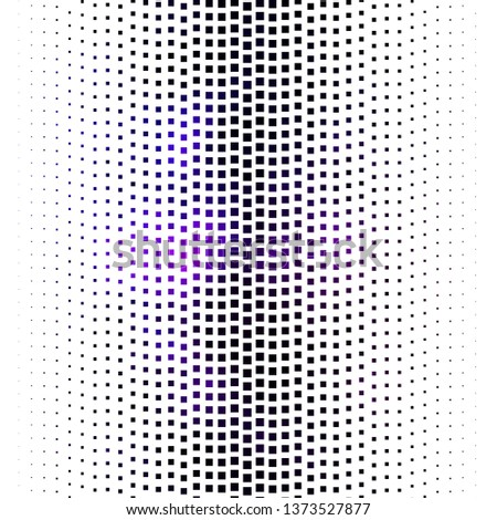 Dark Purple vector layout with lines, rectangles. Rectangles with colorful gradient on abstract background. Pattern for websites, landing pages.