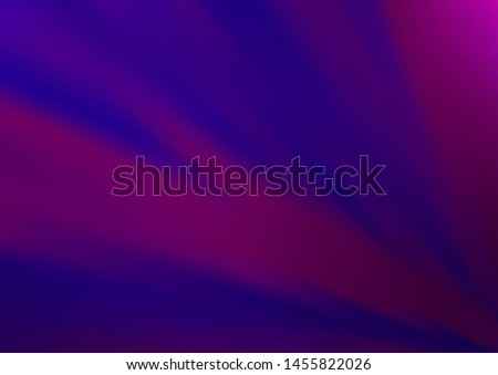 Dark Purple vector modern elegant background. An elegant bright illustration with gradient. The blurred design can be used for your web site.