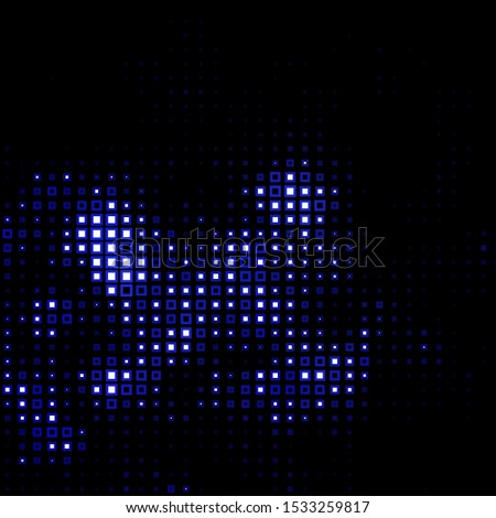 Dark Purple vector texture in rectangular style. Abstract gradient illustration with rectangles. Pattern for commercials, ads.