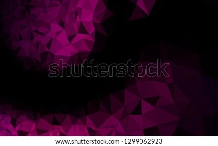 dark purple vector triangle