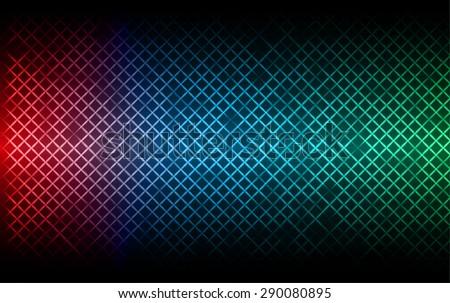 Red blue green metal background net pattern texture grey metal steel