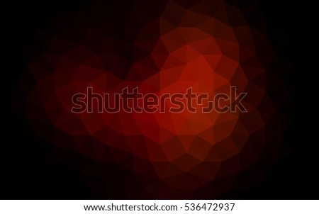 dark red polygonal illustration