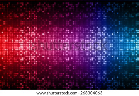 Dark red purple blue color Light Abstract pixels Technology background for computer graphic website internet. circuit board. text box. Mosaic, table