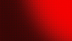 Dark red retro comic pop art background with dots, cartoon halftone background vector illustration eps10