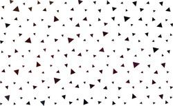 Dark Red vector  abstract mosaic background. Modern abstract illustration with triangles. A new texture for your web site.