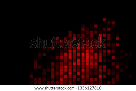 Dark Red vector backdrop with rectangles, squares. Rectangles on abstract background with colorful gradient. Pattern for commercials.
