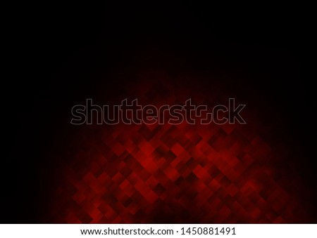 Dark Red vector backdrop with rectangles, squares. Rectangles on abstract background with colorful gradient. Pattern for busines ad, booklets, leaflets