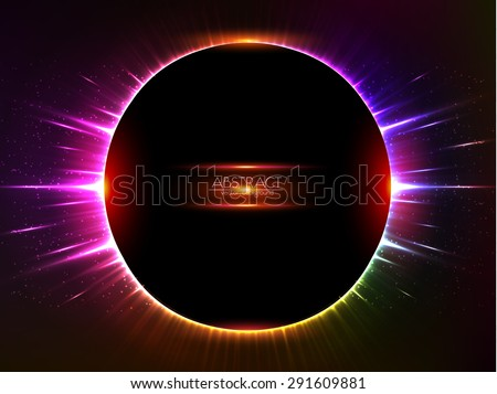 dark red vector shining cosmic