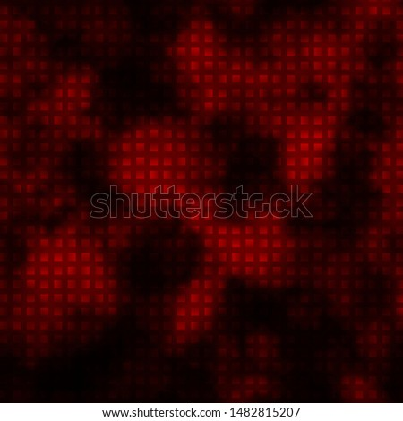 Dark Red vector texture in rectangular style. Colorful illustration with gradient rectangles and squares. Pattern for commercials, ads.