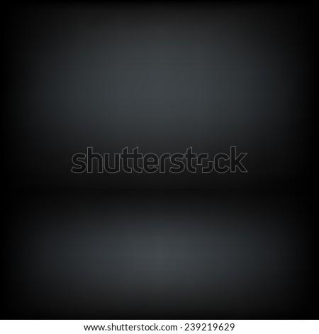Dark room vector background