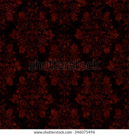 dark seamless vintage pattern
