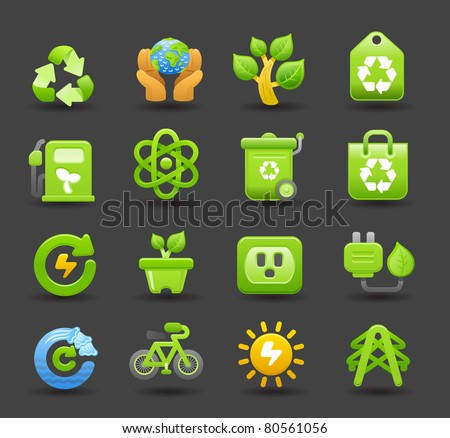Dark series | eco icons