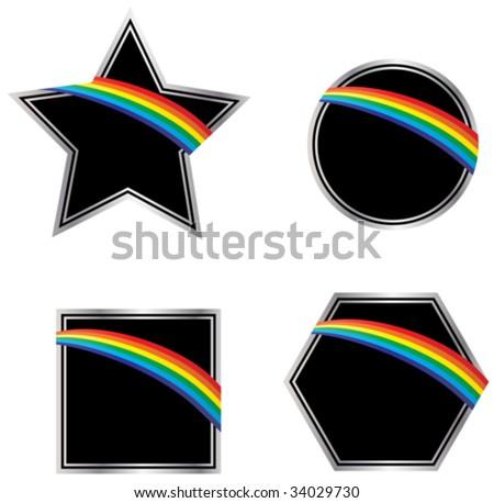 dark side of the rainbow icons