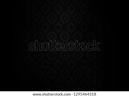 Dark Silver, Gray vector background with rectangles. Rectangles on abstract background with colorful gradient. Best design for your ad, poster, banner.