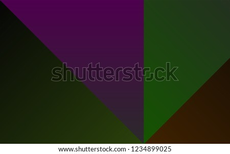 Dark Silver, Gray vector cover with colorful palette. Colorful gradient set with collection of rainbow colors. Template of colors for smart designers.