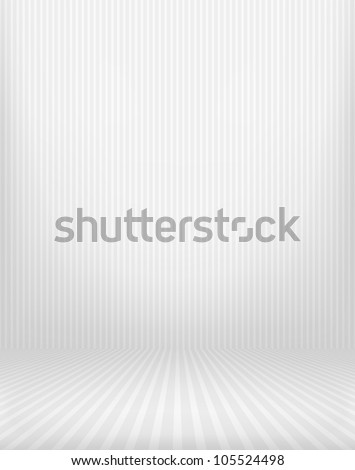 Dark vintage striped room. EPS 10 vector illustration. Contains mesh object
