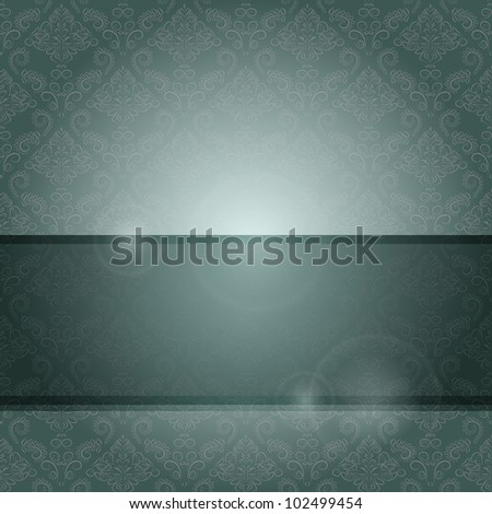 Dark Wallpaper Card with Place for Text. Vector EPS10
