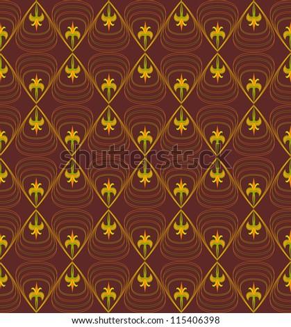 Dark wallpaper pattern