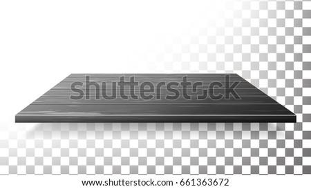 dark wooden table top  floor