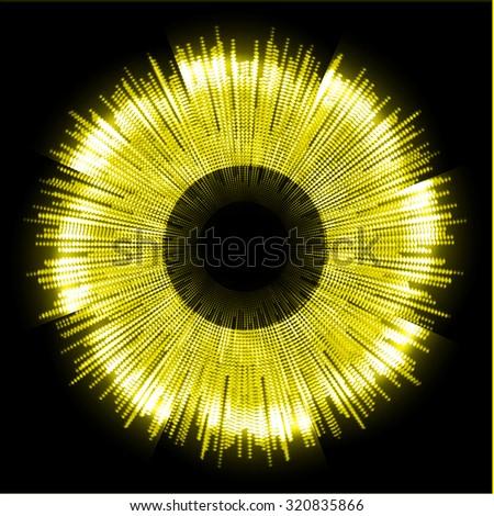 dark yellow color light