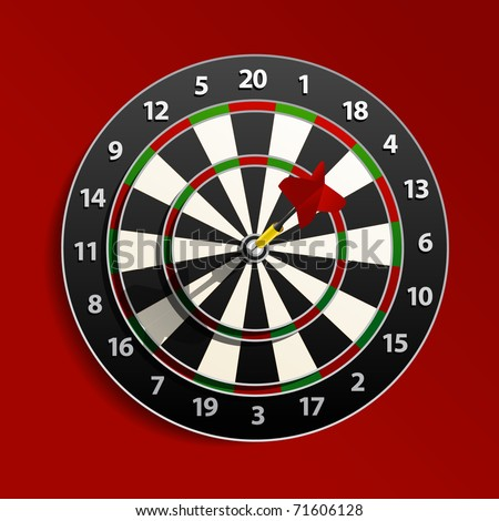 Dart is in the aim