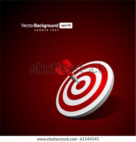 Dart vector background. Eps 10 - stock vector