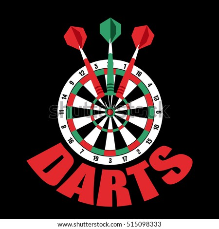 Royalty Free Stock Photos And Images Darts Label Badge Logo