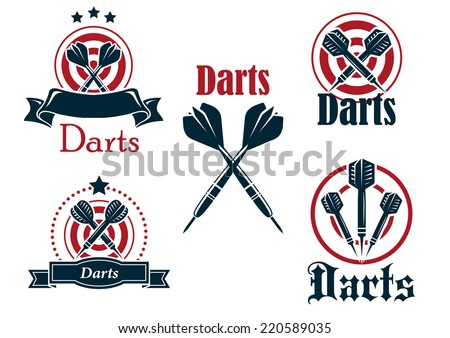 darts icon download free vector art stock graphics images