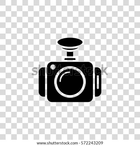 dash camera vector icon