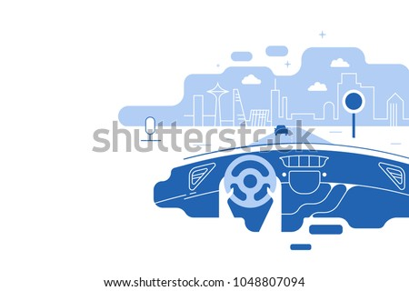 dashboard car and driverhands