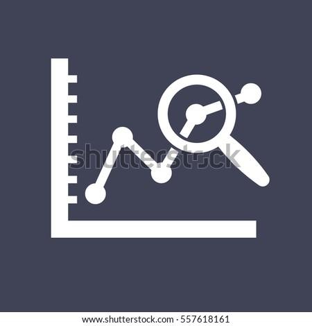 data analysis icon.