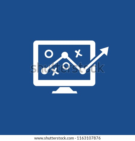 Data analysis icon vector design