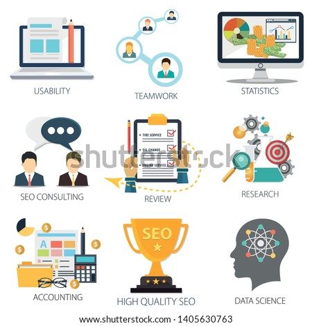 Data analysis with Usability, Teamwork, Statistics, Seo Consulting, review, Research and Accounting