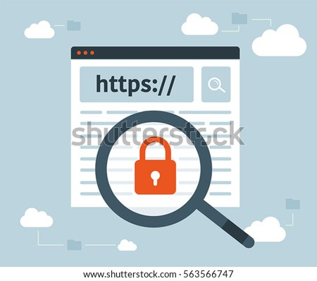 stock-vector-data-protection-and-internet-security-https-magnifying-glass-cloud