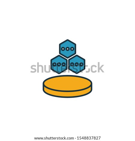 Data Structure icon. Simple element from web hosting icons collection. Creative Data Structure icon ui, ux, apps, software and infographics.