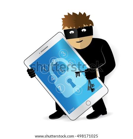 data theft hacker breaks into