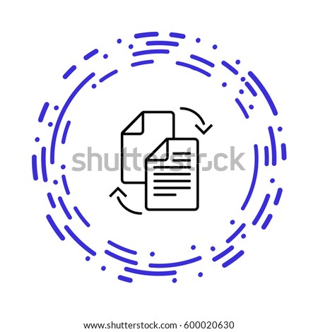 Data transfer between files full color