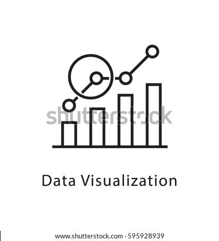 Data Visualization Vector Line Icon