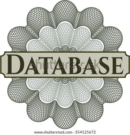 Database linear rosette