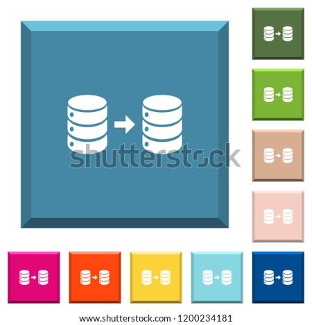 database mirroring white icons