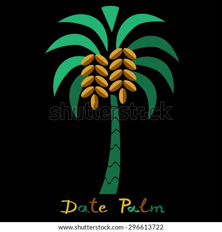 Free Date Palm Tree Clipart in AI, SVG, EPS or PSD